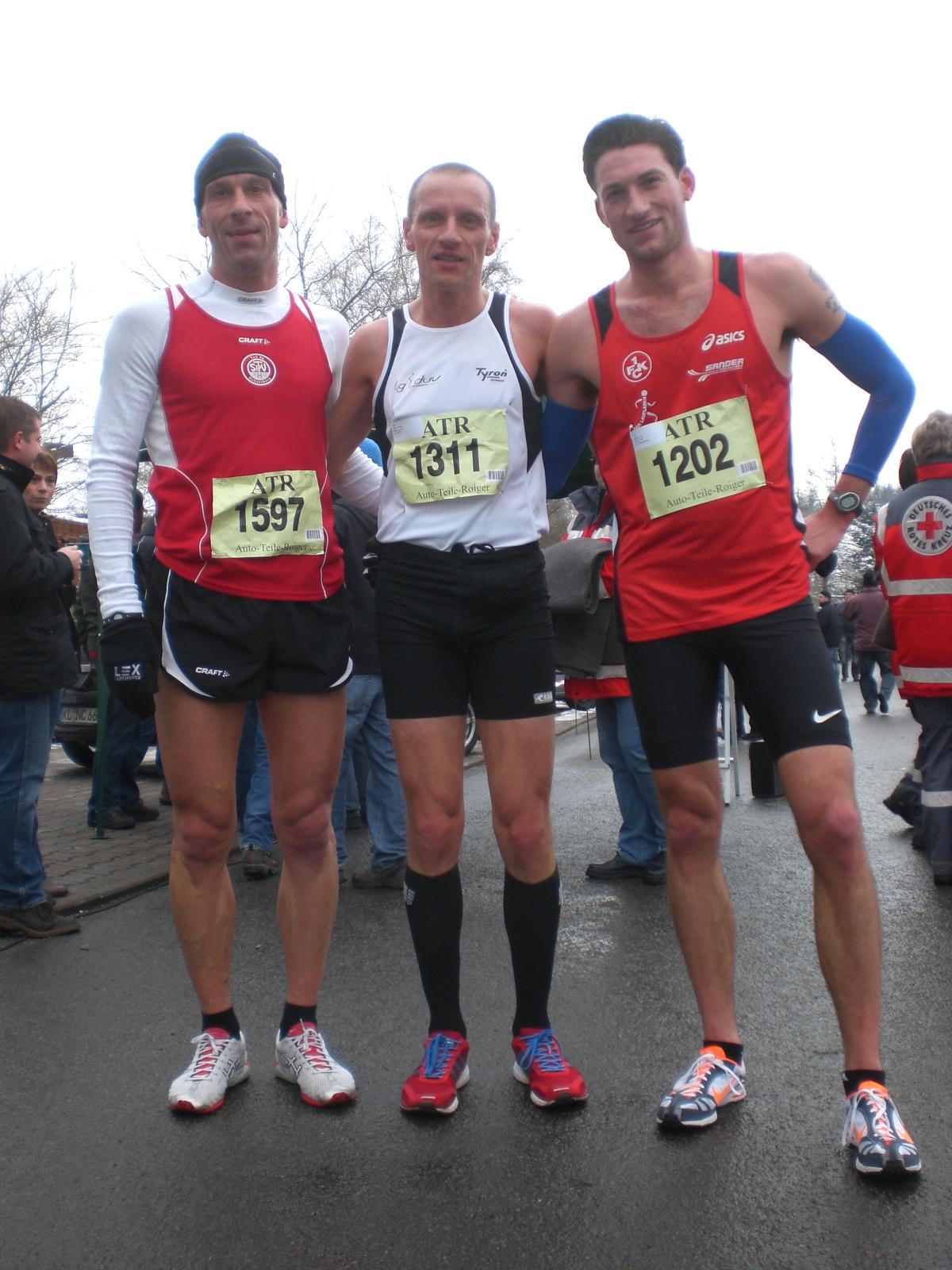 Matthias Hecktor, Stefan Hinze und Danny Edwards (Foto von Jürgen Binder)