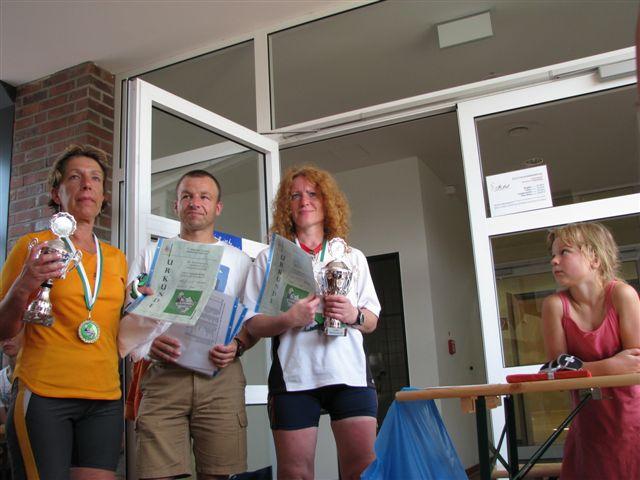 Platz 2 Damen mit Conny und Dagmar