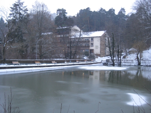 Unser Unterkunft für die Tage: Hotel Seeblick * * *