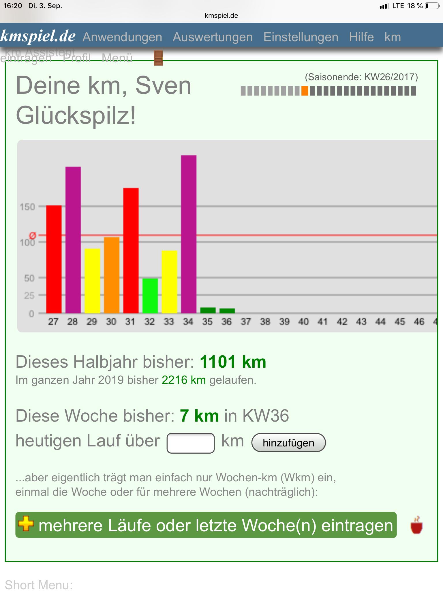 Kilometerspiel